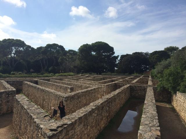 Castello di Donnafugata stone maze