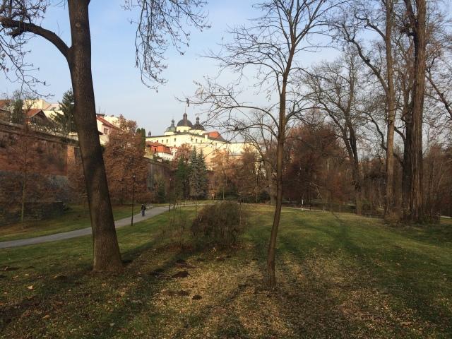 Park strolling