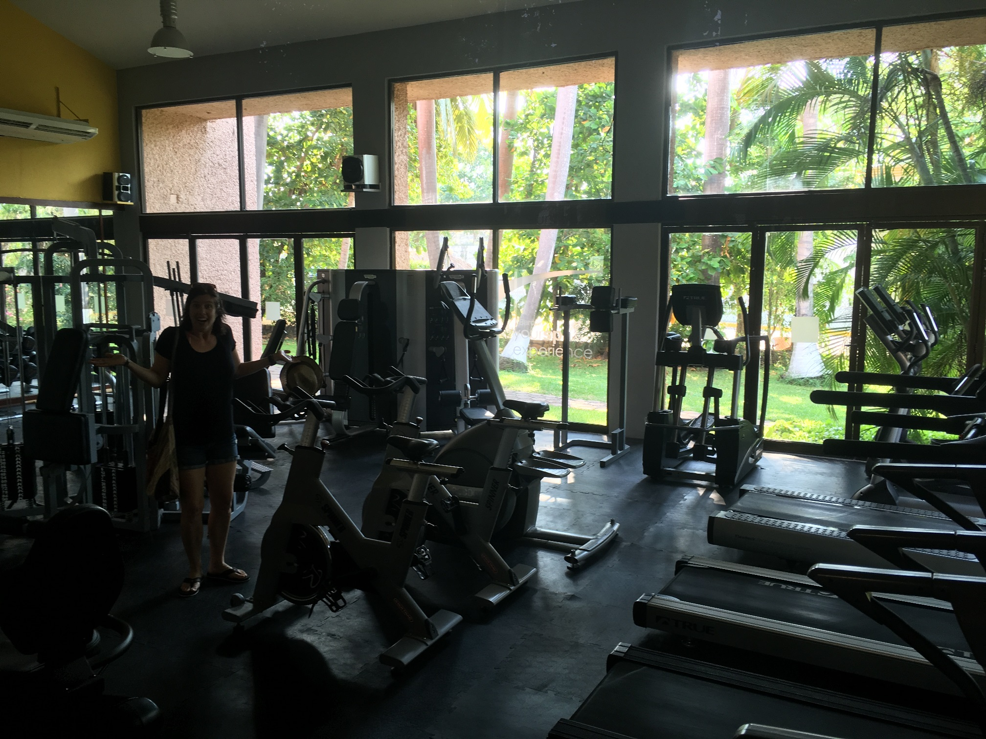 Where are all the exercise people?