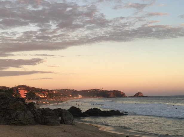 View from Playa el Amor