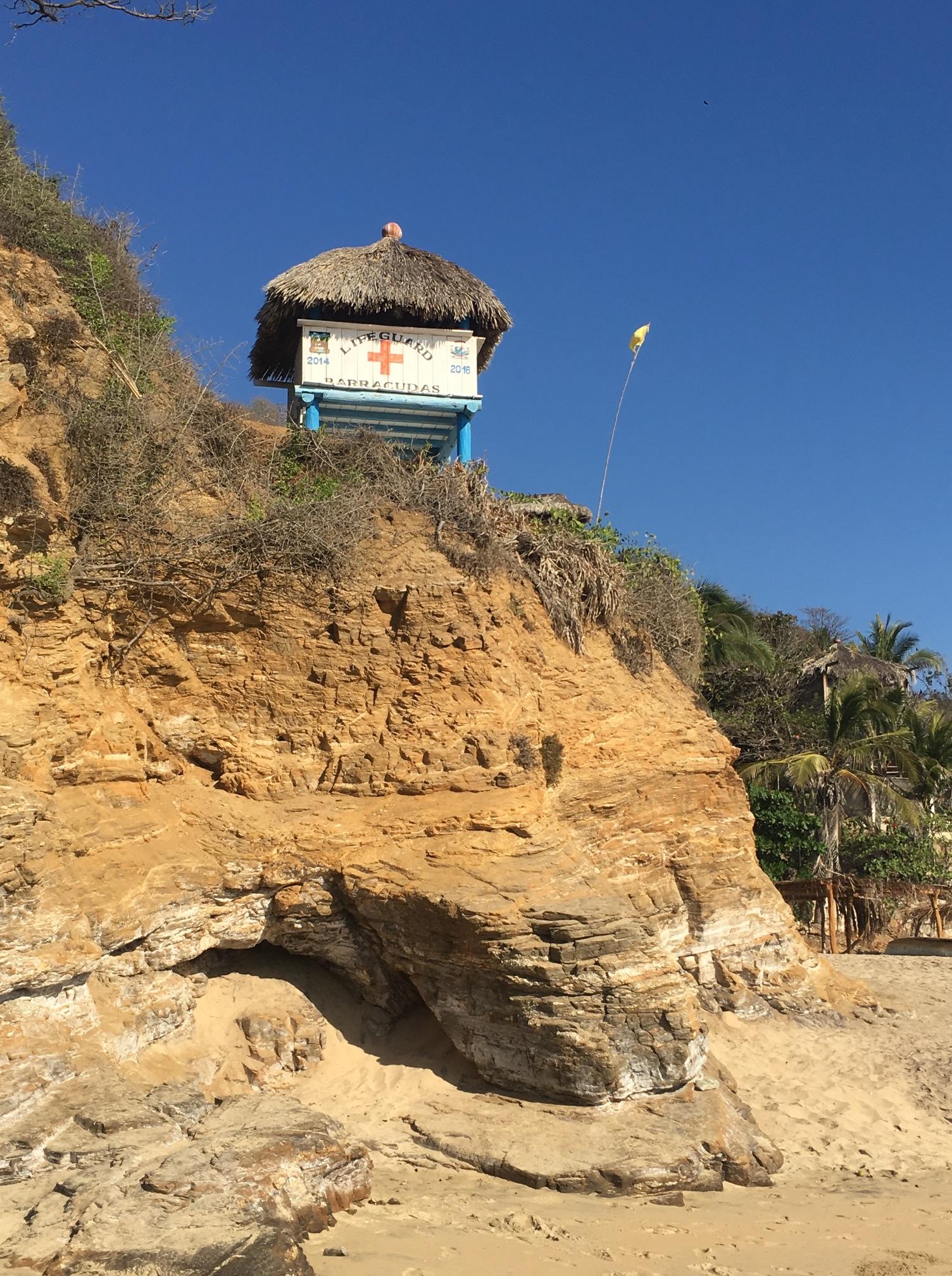 Mazunte Lifeguard Palace
