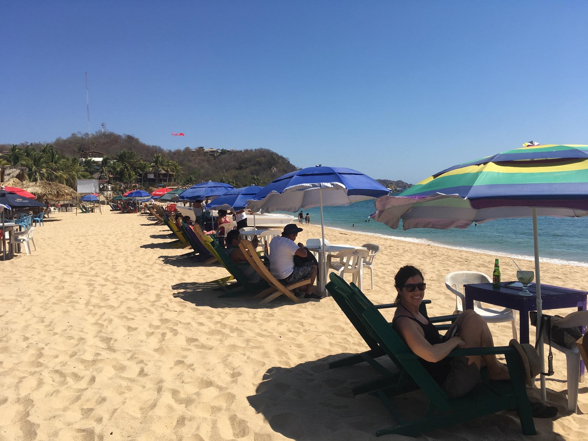 Beachfront gluttony